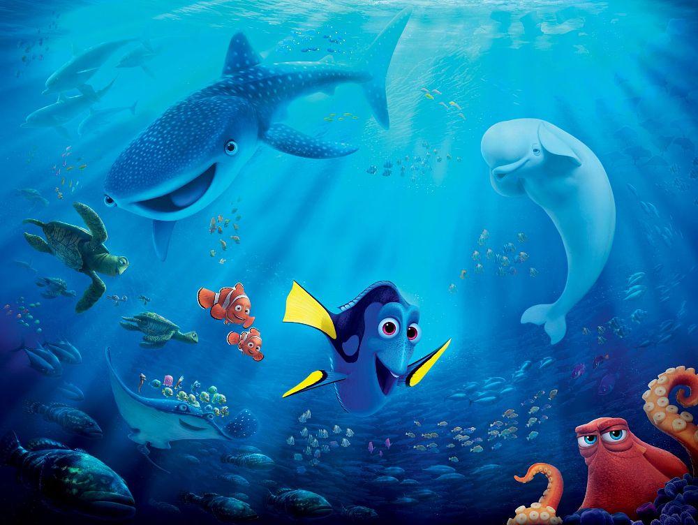 Finding Nemo D Animasi Hd Wallpaper: Gdzie Jest Dory (2016)