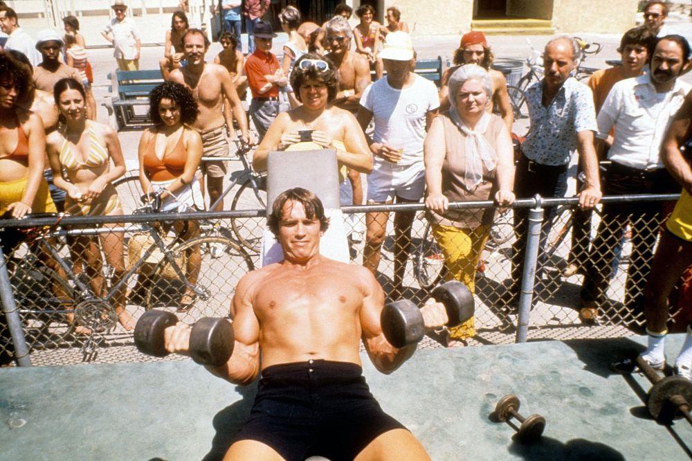 z kim spotyka się Arnold Schwarzenegger