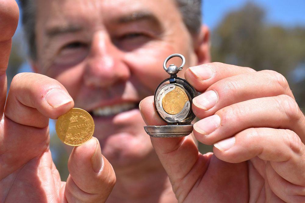 Mój tata spotyka się z poszukiwaczem złota