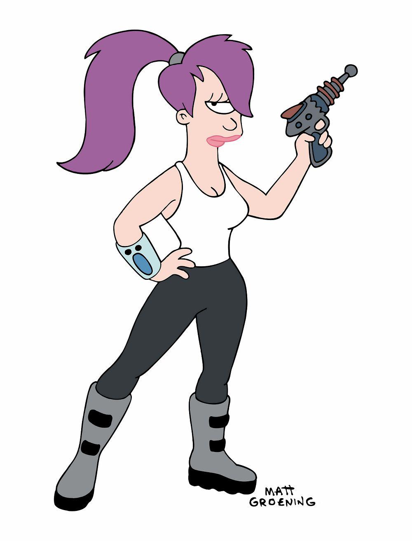 Futurama Leela i Fry zaczynają randki