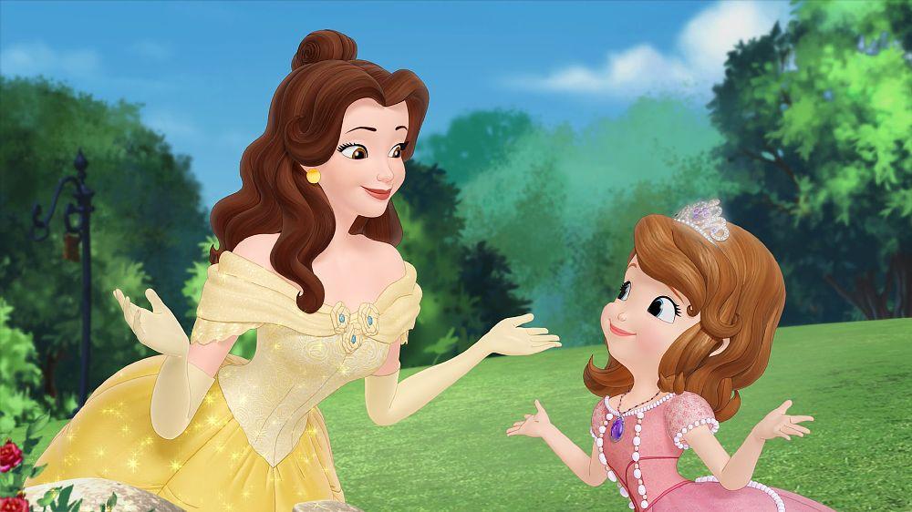 Картинки софия прекрасная с принцессами диснея