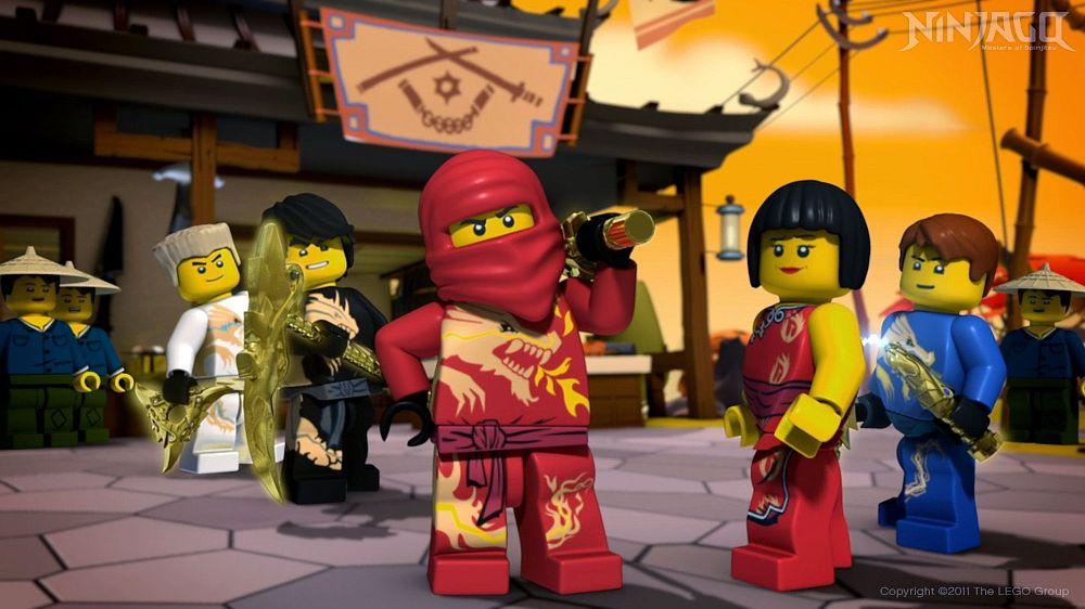 Ninjago Mistrzowie Spinjitzu Odcinek 95 Inwazja Oni Siły